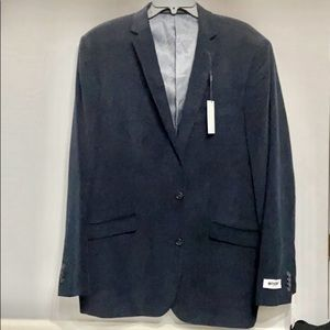 NWT Unlisted Kenneth Cole Navy Sport coat Sz 42L
